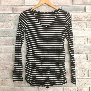 Isabel maternity striped tee